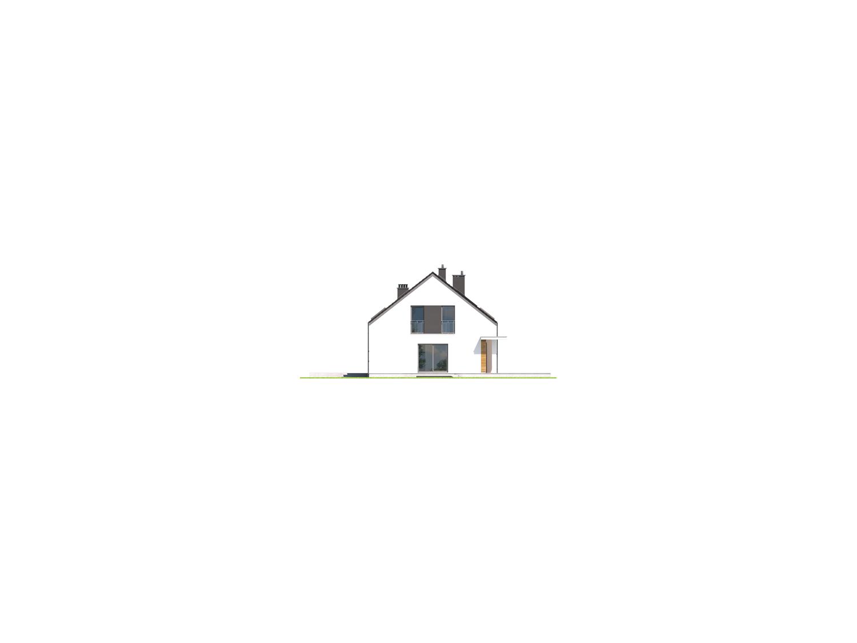plan de maison sur un terrain en longueur permis de construire rt2012. Black Bedroom Furniture Sets. Home Design Ideas