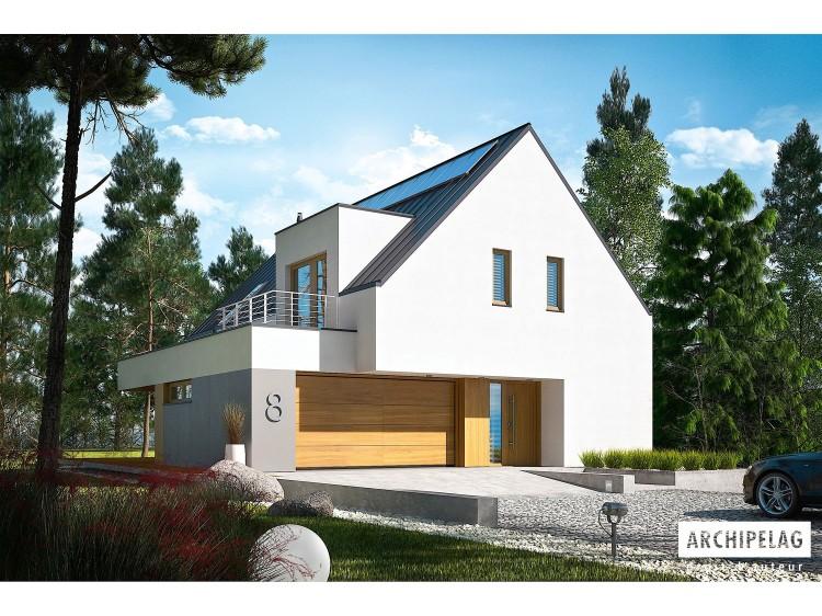 Plan de maison ADAM G2 E Option, maison ossature bois