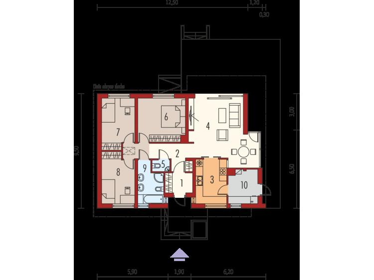 """Plan de maison """" ERYK-III """"..."""