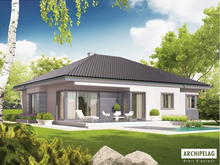 """Plan de maison moderne """"..."""