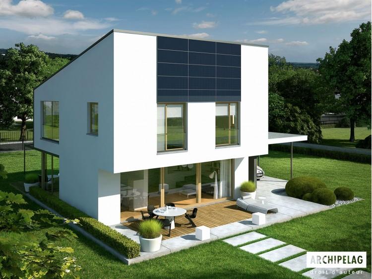 Plan de maison EX 12 Option, maison ossature bois,...