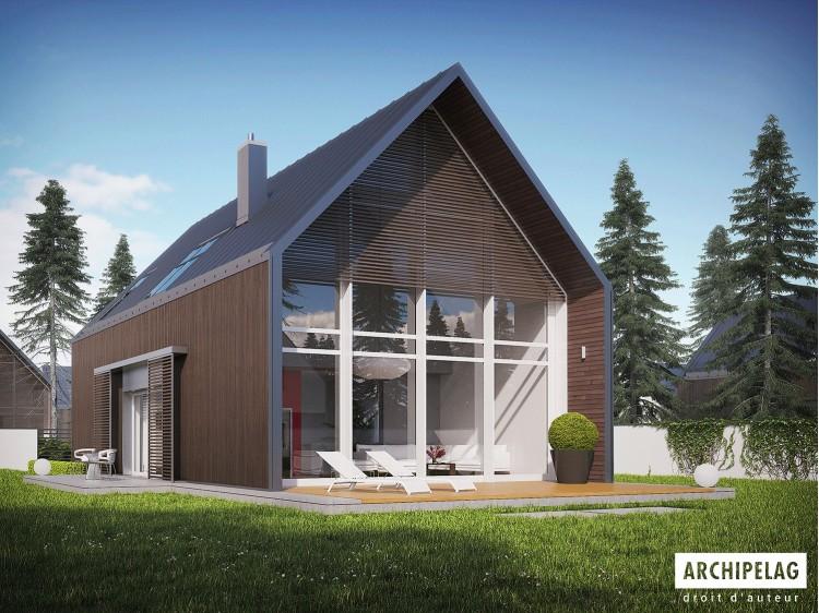 Plan de maison EX 13 ENERGO PLUS Option, maison ossature...
