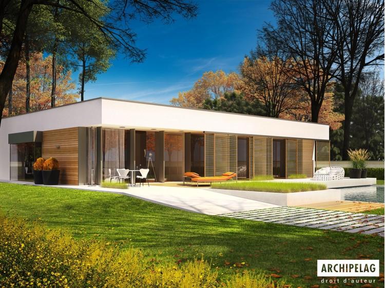 Plan de maison EX 7 ENERGO PLUS Option, maison ossature...