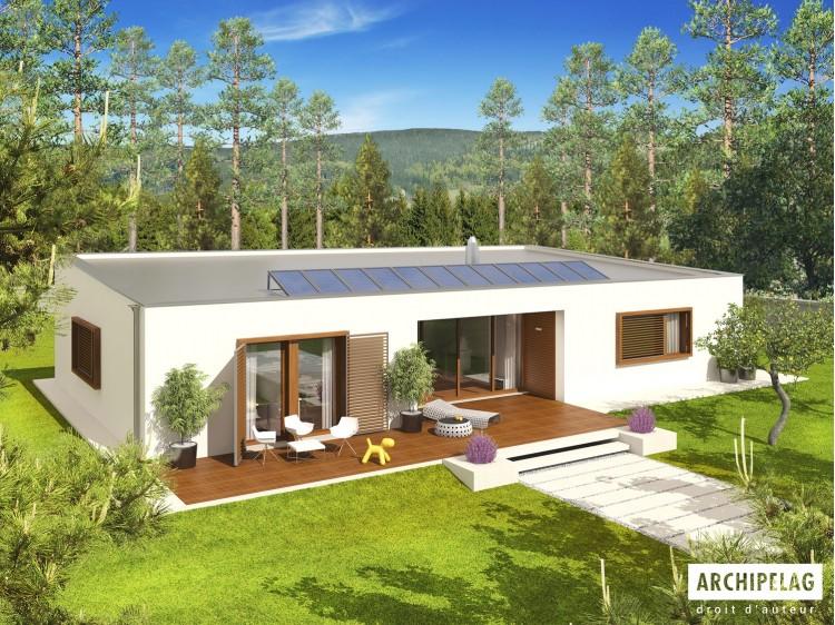 Plan de maison EX 8 G2 (W C) ENERGO PLUSOption, maison...
