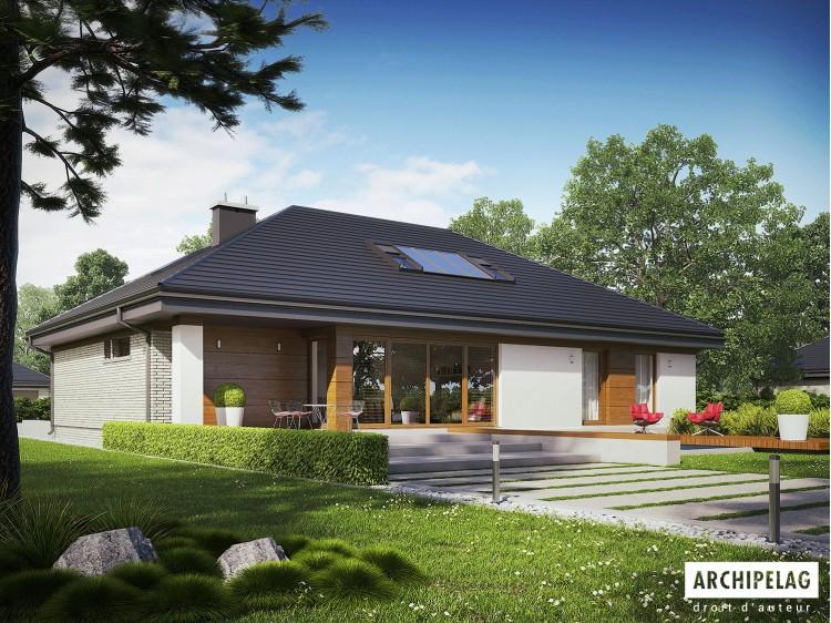 Plan de maison Gabriel II G1 ENERGO Option, maison...