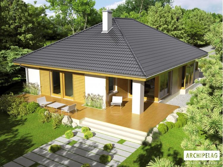 Plan de maison Glen II G1 MULTI-COMFORT  Option, maison...
