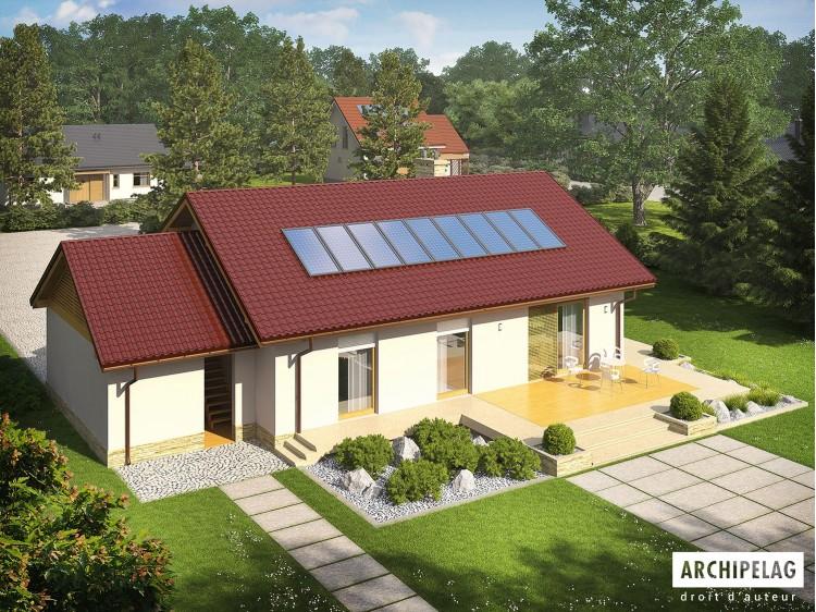 Plan de maison Kornel III G1  ENERGO Option, maison...