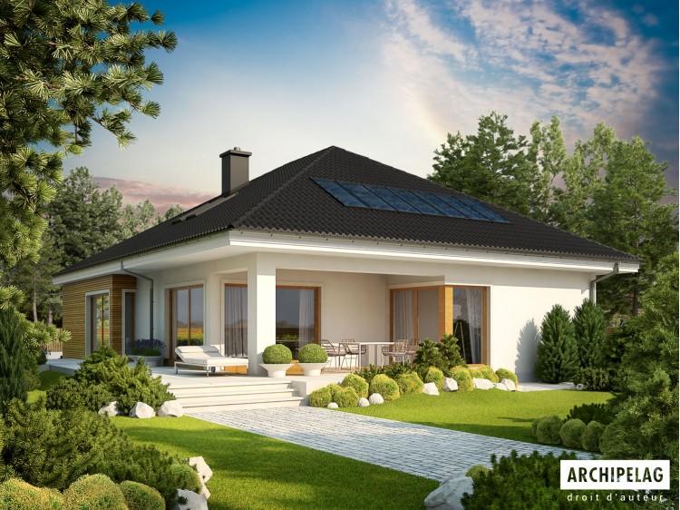 Plan de maison Liv 3 G2 MULTI-COMFORT  Option, maison...