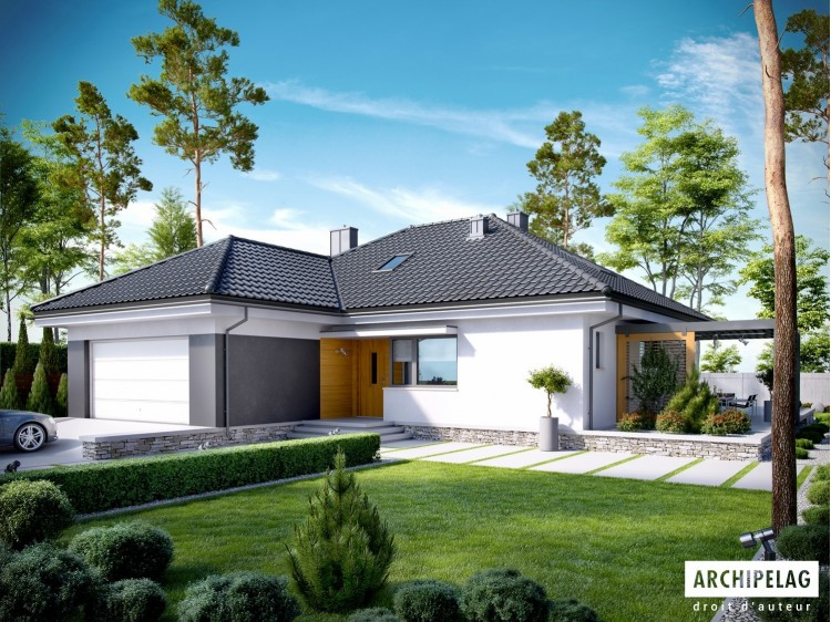 Plan de maison ASTRID MALA G 2 Option, maison ossature bois