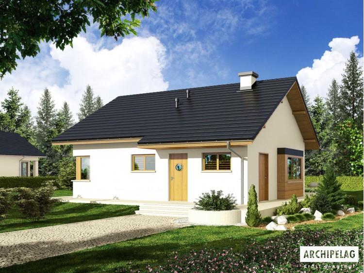 Plan de maison Tori III W A Option, maison ossature bois,...
