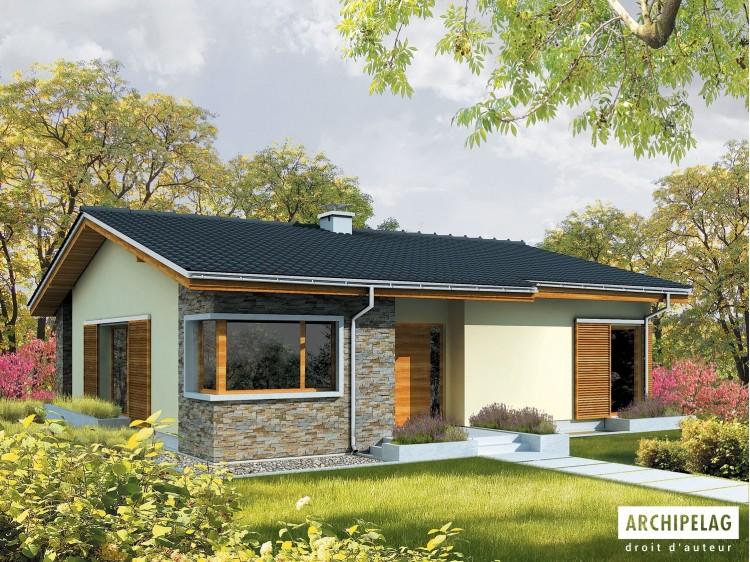 Plan de maison BOB - Option, maison ossature bois