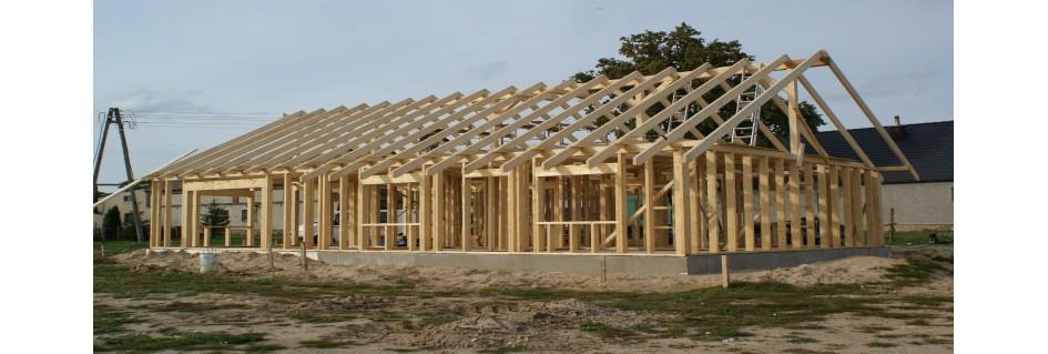 Maisons en kit, ossature bois kits, ossature bois certifié CE C24 KVH