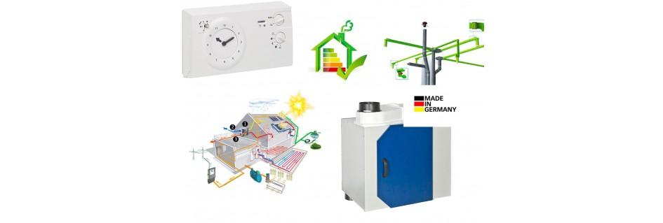 VMC double flux, instalation en kit, compatible maison bois, briques