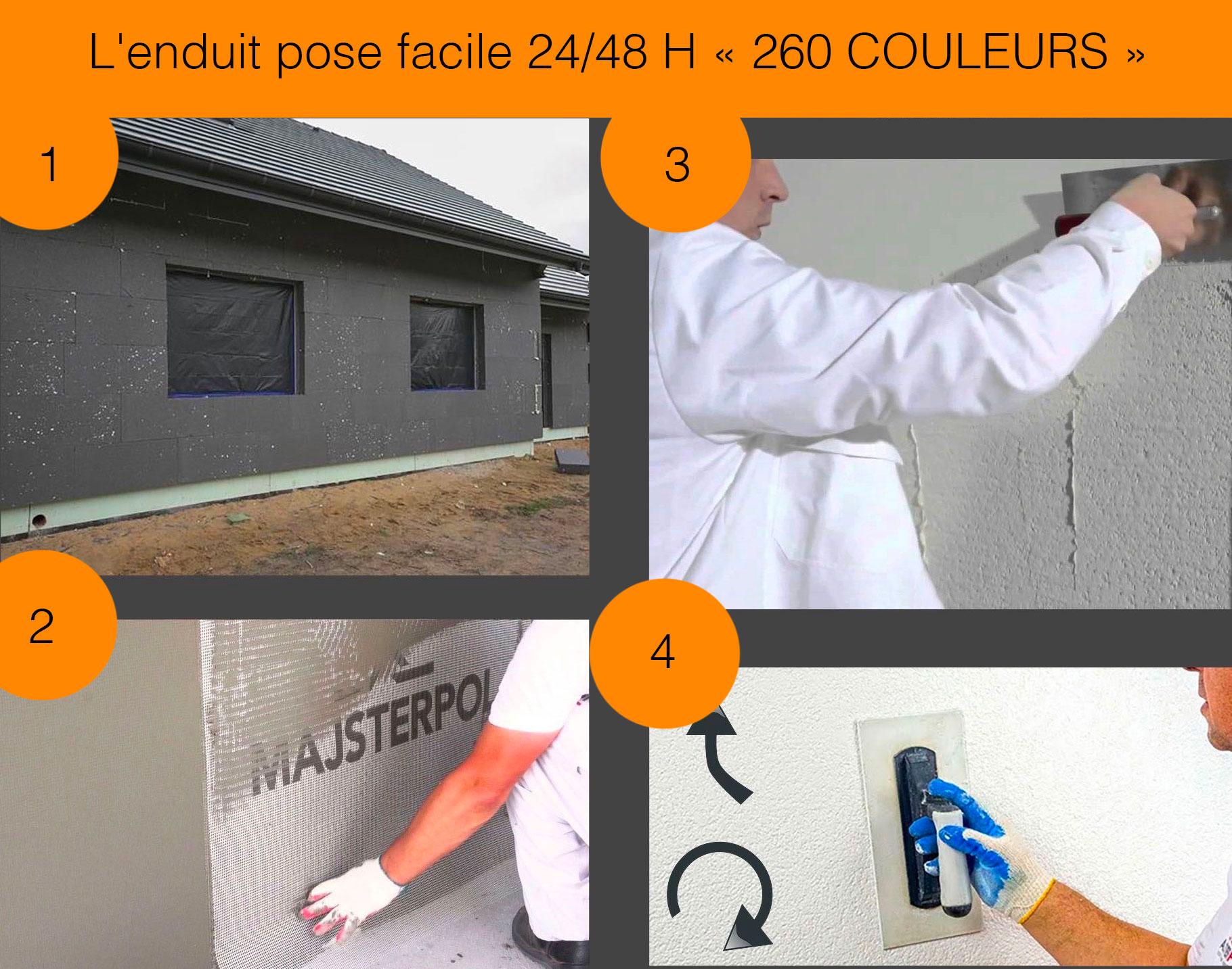 réaliser isolation par l'extérieur 200 mm