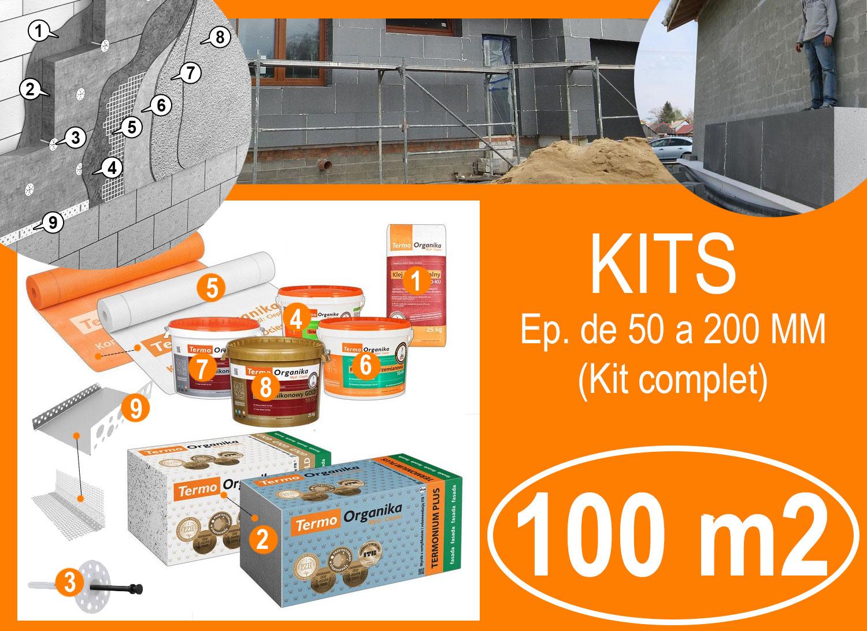 KIT isolation exterieur 100 m2