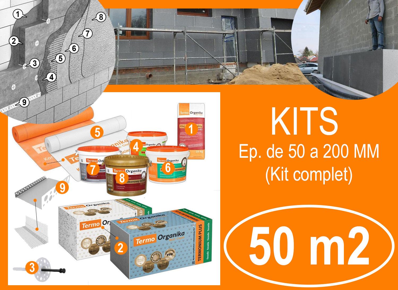 KIT isolation exterieur 50 m2